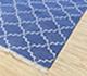 Jaipur Rugs - Flat Weave Cotton Blue PDCT-70 Area Rug Floorshot - RUG1086758