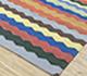 Jaipur Rugs - Flat Weave Cotton Blue PDCT-95 Area Rug Floorshot - RUG1086741