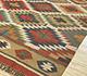 Jaipur Rugs - Flat Weave Jute Red and Orange PDJT-114 Area Rug Floorshot - RUG1107055