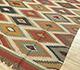 Jaipur Rugs - Flat Weaves Jute Red and Orange PDJT-165 Area Rug Floorshot - RUG1107019