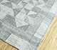 Jaipur Rugs - Flat Weave Polyester Blue PDPL-43 Area Rug Floorshot - RUG1098588