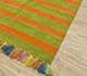 Jaipur Rugs - Flat Weaves Synthetic Fiber Red and Orange PDRC-17 Area Rug Floorshot - RUG1086468