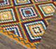 Jaipur Rugs - Flat Weaves Wool Red and Orange PDWL-295 Area Rug Floorshot - RUG1075476