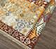 Jaipur Rugs - Flat Weaves Wool Red and Orange PDWL-298 Area Rug Floorshot - RUG1078413