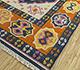 Jaipur Rugs - Flat Weave Wool Blue PDWL-351 Area Rug Floorshot - RUG1098469