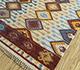 Jaipur Rugs - Flat Weaves Wool Ivory PDWL-353 Area Rug Floorshot - RUG1098475