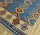Jaipur Rugs - Flat Weave Wool Blue PDWL-353 Area Rug Floorshot - RUG1098476
