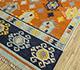 Jaipur Rugs - Flat Weave Wool Red and Orange PDWL-356 Area Rug Floorshot - RUG1098479