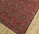 Jaipur Rugs - Flat Weave Wool Red and Orange PDWL-444 Area Rug Floorshot - RUG1098487