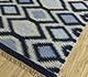 Jaipur Rugs - Flat Weaves Wool Blue PDWL-449 Area Rug Floorshot - RUG1098493