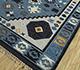 Jaipur Rugs - Flat Weave Wool Blue PDWL-451 Area Rug Floorshot - RUG1098495