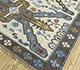 Jaipur Rugs - Flat Weaves Wool Ivory PDWL-452 Area Rug Floorshot - RUG1098497