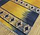 Jaipur Rugs - Flat Weaves Wool Blue PDWL-455 Area Rug Floorshot - RUG1098500