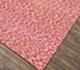 Jaipur Rugs - Flat Weave Wool and Viscose Pink and Purple PDWV-25 Area Rug Floorshot - RUG1075464