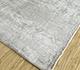 Jaipur Rugs - Hand Loom Viscose Grey and Black PHPV-118 Area Rug Floorshot - RUG1098455
