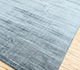 Jaipur Rugs - Hand Loom Viscose Blue PHPV-20 Area Rug Floorshot - RUG1097393