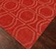 Jaipur Rugs - Hand Loom Wool Red and Orange PHWL-77 Area Rug Floorshot - RUG1060891