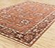 Jaipur Rugs - Hand Knotted Wool Red and Orange PKWL-410 Area Rug Floorshot - RUG1078172