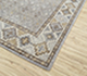 Jaipur Rugs - Hand Knotted Wool Grey and Black PKWL-5105 Area Rug Floorshot - RUG1058088