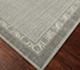 Jaipur Rugs - Hand Knotted Wool Grey and Black PKWL-5106 Area Rug Floorshot - RUG1060229