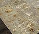 Jaipur Rugs - Patchwork Wool and Silk Grey and Black PSK-952 Area Rug Floorshot - RUG1054537