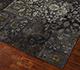 Jaipur Rugs - Patchwork Wool and Silk Grey and Black PSK-952 Area Rug Floorshot - RUG1088672