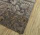Jaipur Rugs - Patchwork Wool and Silk Grey and Black PSK-952 Area Rug Floorshot - RUG1091924