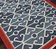 Jaipur Rugs - Flat Weave Wool Blue PX-2088 Area Rug Floorshot - RUG1032937