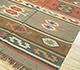 Jaipur Rugs - Flat Weave Jute Red and Orange PX-2102 Area Rug Floorshot - RUG1107063