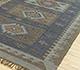 Jaipur Rugs - Flat Weaves Jute Green PX-2108 Area Rug Floorshot - RUG1089320