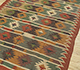 Jaipur Rugs - Flat Weave Jute Red and Orange PX-2109 Area Rug Floorshot - RUG1107058