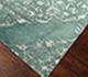 Jaipur Rugs - Hand Knotted Wool and Viscose Blue PX-2139 Area Rug Floorshot - RUG1040858