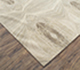 Jaipur Rugs - Hand Knotted Wool and Silk Ivory QM-167 Area Rug Floorshot - RUG1072740