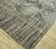 Jaipur Rugs - Hand Knotted Wool and Silk Grey and Black QM-170 Area Rug Floorshot - RUG1069507