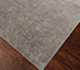 Jaipur Rugs - Hand Knotted Wool and Silk Grey and Black QM-702 Area Rug Floorshot - RUG1065481