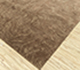 Jaipur Rugs - Hand Knotted Wool and Silk Beige and Brown QM-702 Area Rug Floorshot - RUG1088233