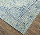 Jaipur Rugs - Hand Knotted Wool and Silk Blue QM-901 Area Rug Floorshot - RUG1077720