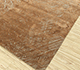 Jaipur Rugs - Hand Knotted Wool and Silk Beige and Brown QM-951 Area Rug Floorshot - RUG1078767