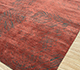 Jaipur Rugs - Hand Knotted Wool and Silk Beige and Brown QM-951 Area Rug Floorshot - RUG1079891