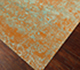 Jaipur Rugs - Hand Knotted Wool and Silk Beige and Brown QM-958 Area Rug Floorshot - RUG1061885