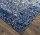 Jaipur Rugs - Hand Knotted Wool and Silk Blue QM-958 Area Rug Floorshot - RUG1061844