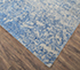 Jaipur Rugs - Hand Knotted Wool and Silk Grey and Black QM-958 Area Rug Floorshot - RUG1070142
