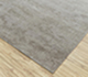 Jaipur Rugs - Hand Knotted Wool and Silk Grey and Black QM-959 Area Rug Floorshot - RUG1079803