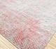 Jaipur Rugs - Hand Knotted Wool and Silk Blue QM-962 Area Rug Floorshot - RUG1097229