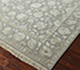 Jaipur Rugs - Hand Knotted Wool and Silk Grey and Black QNQ-03(C-05) Area Rug Floorshot - RUG1023453