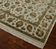 Jaipur Rugs - Hand Knotted Wool and Silk Ivory QNQ-03 Area Rug Floorshot - RUG1034369