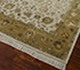 Jaipur Rugs - Hand Knotted Wool and Silk Ivory QNQ-03 Area Rug Floorshot - RUG1034463