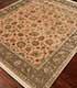 Jaipur Rugs - Hand Knotted Wool and Silk Red and Orange QNQ-03 Area Rug Floorshot - RUG1069331