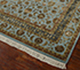 Jaipur Rugs - Hand Knotted Wool and Silk Blue QNQ-06 Area Rug Floorshot - RUG1041913