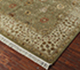 Jaipur Rugs - Hand Knotted Wool and Silk Green QNQ-07 Area Rug Floorshot - RUG1023345